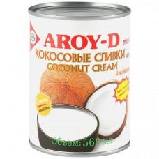 Кокосовые сливки 70%, 560 мл, Aroy-D