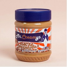 Паста арахисовая с дробленным арахисом, 340 гр, Mr, Creamys