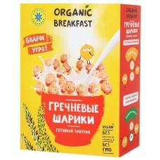 """Готовый завтрак """"Гречневые шарики"""", 100 гр, Компас здоровья"""