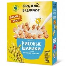 """Готовый завтрак """"Рисовые шарики"""", 100 гр, Компас здоровья"""
