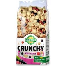 """Сухие завтраки """"Crunchy"""" с лесными ягодами, 300 гр,"""